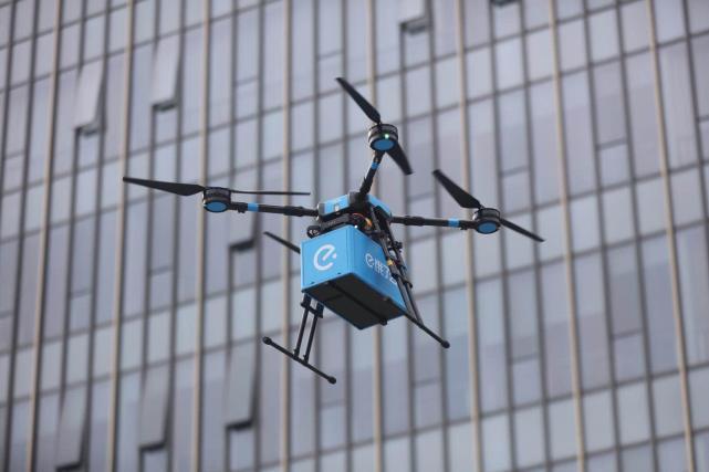 饿了么获准开辟国内首批无人机即时配送航线