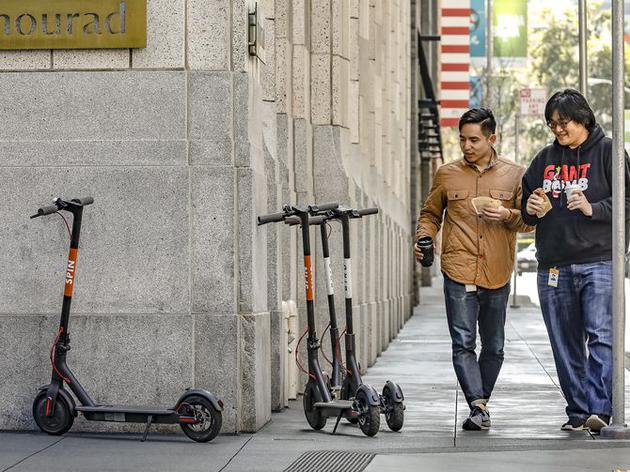Uber加入共享滑板车风潮:向旧金山政府提交试点申请