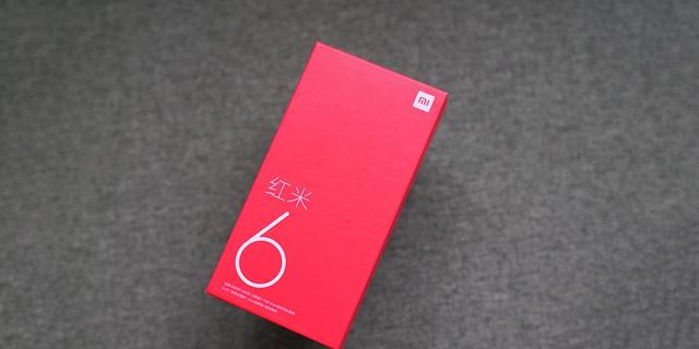 """红米6图赏: """"小杨柳腰""""设计 小巧全面屏手机"""
