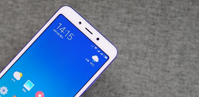 小巧全面屏手机 红米6图赏