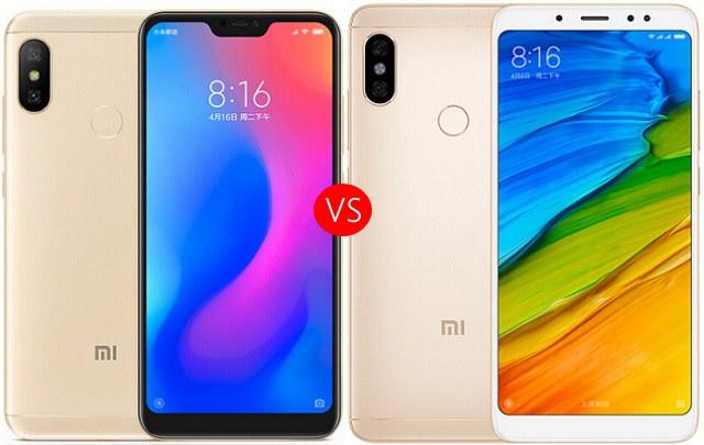 红米Note5和6 Pro区别对比 红米6 Pro和Note5哪个好?