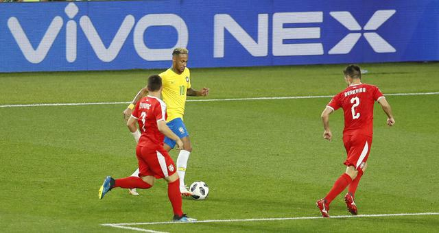 2018世界杯塞尔维亚vs巴西视频录播 塞尔维亚0-2巴西回放视频
