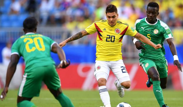 2018世界杯塞内加尔vs哥伦比亚视频录播 塞内加尔0-1哥伦比亚回放视频