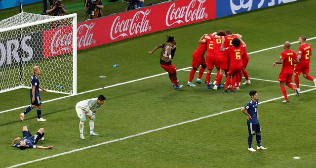 2018世界杯比利时vs日本视频录播 1/8决赛比利时3-2日本回放视频