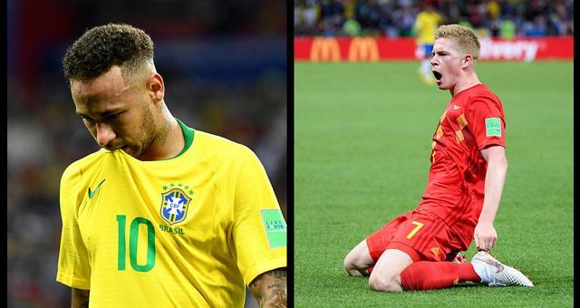 2018世界杯巴西vs比利时视频录播 1/4决赛巴西1-2比利时回放视频
