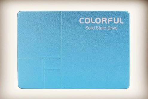 七彩虹推出SL500 640GB蓝色限量版:送32GB U盘