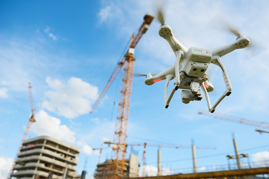 """无人机新身份,""""空中城管""""助力智慧城市"""