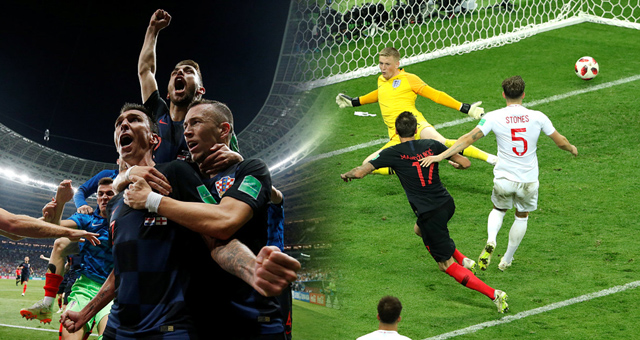 2018世界杯克罗地亚vs英格兰视频录播 克罗地亚2-1英格兰回放视