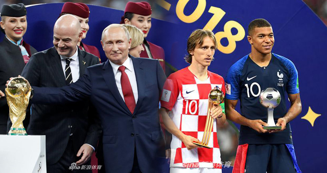 2018世界杯法国vs克罗地亚视频录播 法国4-2克罗地亚回放视频