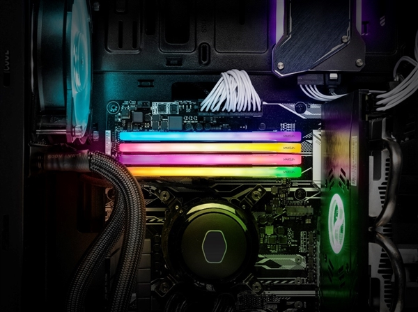 铭瑄发布复仇者M3 RGB DDR4内存 定价8GB 499元