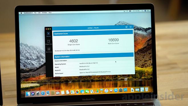 苹果发布补丁修复2018 MacBook Pro过热降频问题