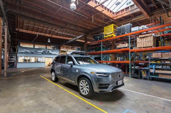 Uber自动驾驶汽车重回道路测试 增加人类驾驶员监控系统