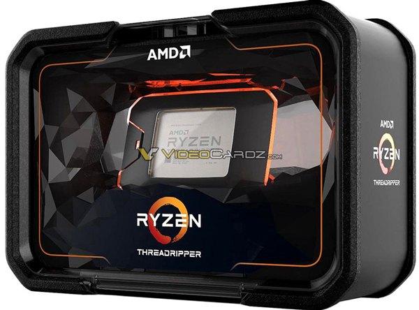 AMD二代Ryzen ThreadRipper曝光 包装霸气 性能炸裂