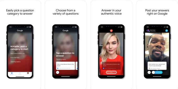 谷歌推出视频问答应用Cameos:让明星出面回答问题