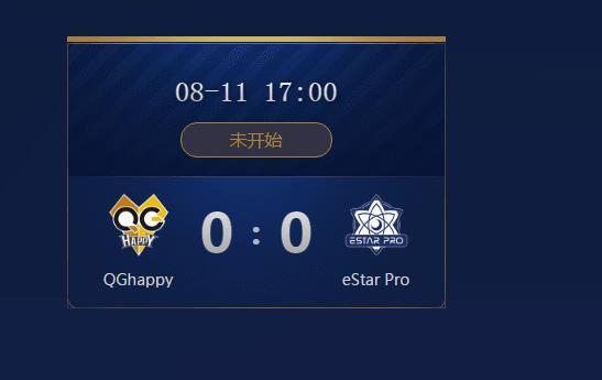 2018王者荣耀冠军杯总决赛QGhappy和eStar Pro谁会赢 比分预测
