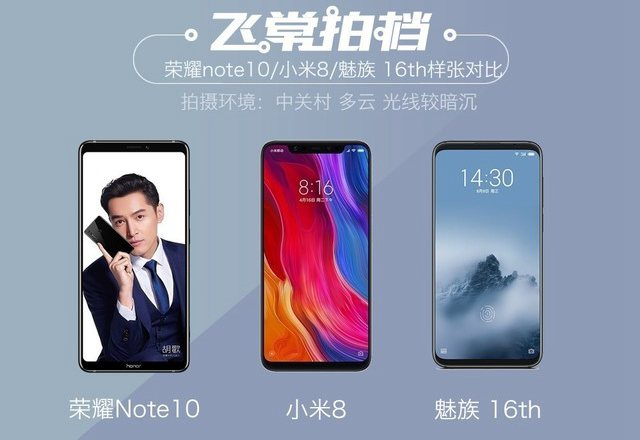 魅族16/小米8/荣耀Note10拍照对比评测 国产旗舰相机对决【图文】