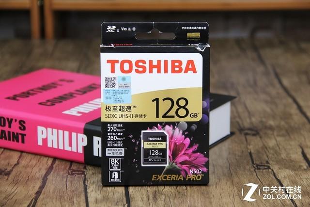 东芝EXCERIA PRO N502 SD卡评测 极速读写