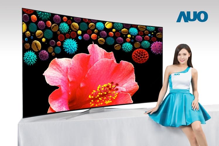 友达宣布将展示全球最大8K电视面板:85寸无边框