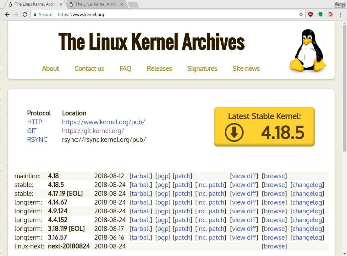 Linux 内核版本那么多 你应该选择哪个稳定版本?