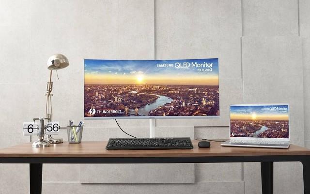 全球首款雷电3接口显示器 三星CJ79曲面显示器发布