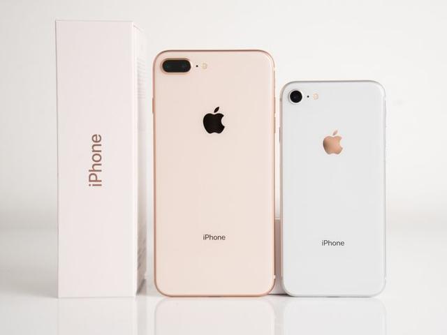 苹果iPhone8对比iPhone8 Plus图赏 简约高颜值