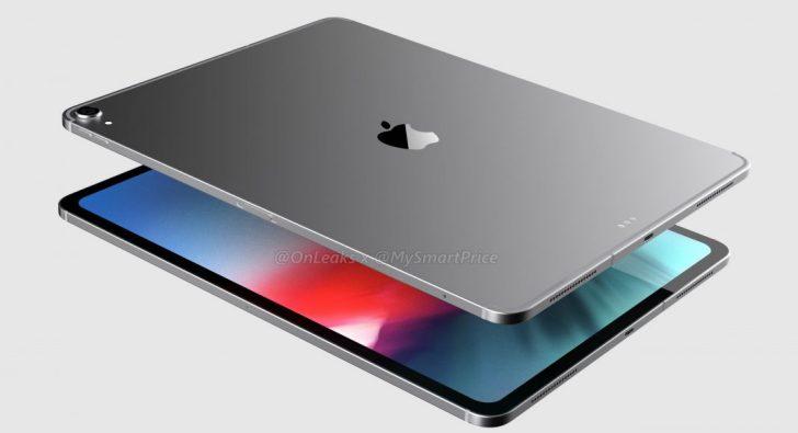 新12.9英寸iPad Pro渲染图现身 iPhoneXS于9月14日开启预定