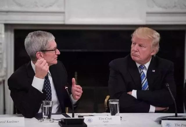 特朗普再向库克施压:想要避免中国征税 苹果就回美国生产