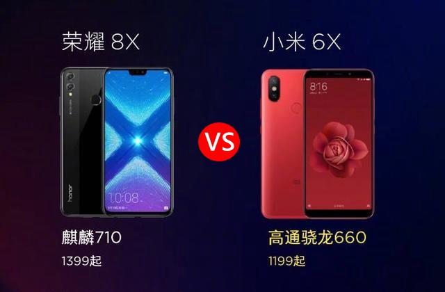荣耀8X和小米6X区别对比 荣耀8X和小米6X哪个好?