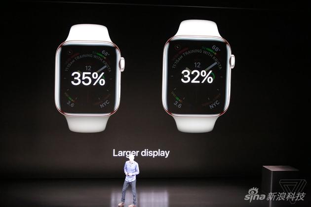 苹果Apple Watch 4发布:首次大改,检测健康成转折点