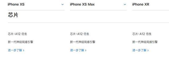 iPhone XR、XS、XS Max有什么区别 苹果XS/MAX与XR全面对比