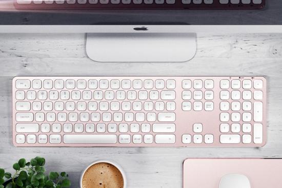 Satechi推出全新电脑键盘产品 专为Mac系统打造