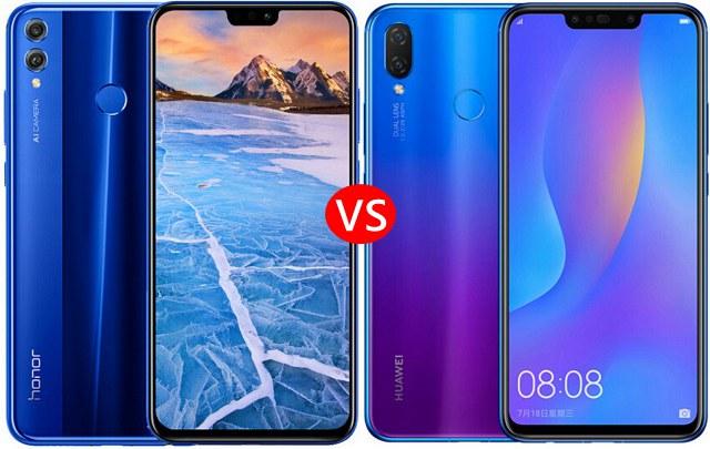 荣耀8X和华为nova3i区别对比 差价600元的手机该怎么选?