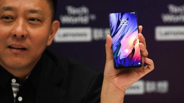 联想Z5 Pro曝光:真全面屏滑屏手机 支持屏下指纹