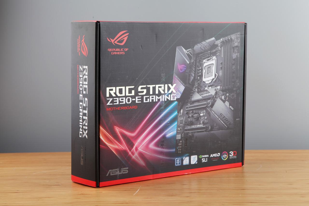 华硕ROG Strix Z390-E GAMING主板评测 暗黑美学 电竞杀手