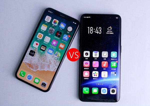 iPhone XS Max和OPPO Find X拍照对比:一个化了妆一个更真实!