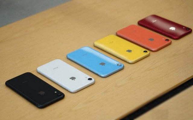 六色苹果iPhone XR对比图赏 iPhone XR哪种配色好看?