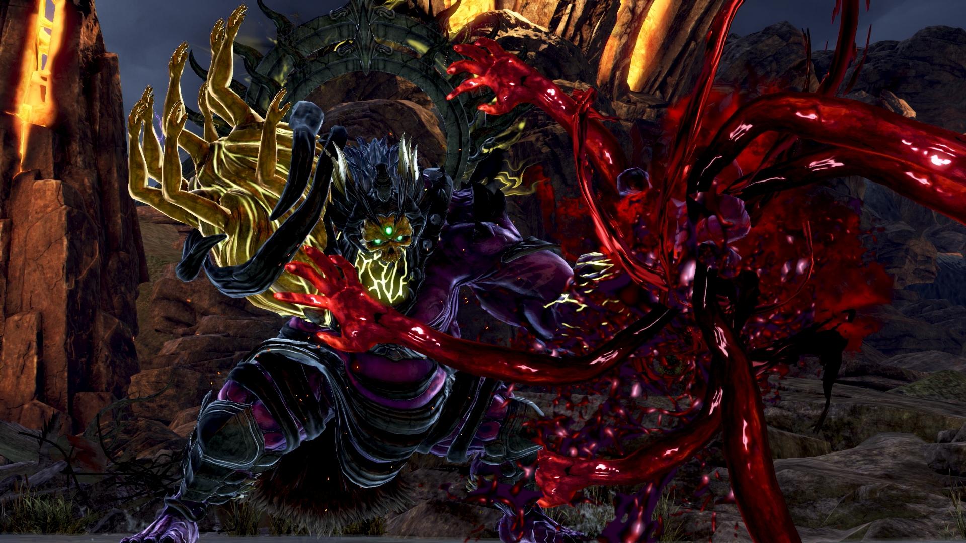 《噬神者3》全新荒神角色系统放出!神机部队战荒神