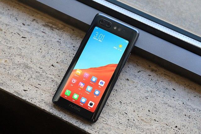 努比亚X发布:前后双屏幕 侧面指纹 售价3299元起