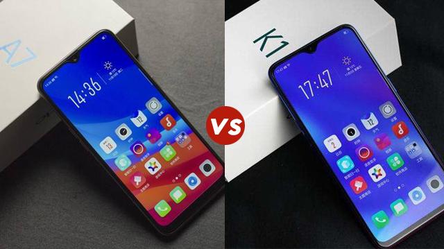 OPPO A7和OPPO K1对比区别评测 OPPO A7和OPPO K1哪个好?