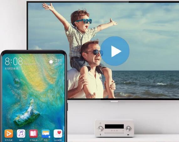 华为Mate20 Pro无线投屏怎么用?华为Mate20Pro手机投射到电视
