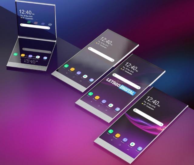 索尼折叠手机专利曝光:透明机身加六种显示模式