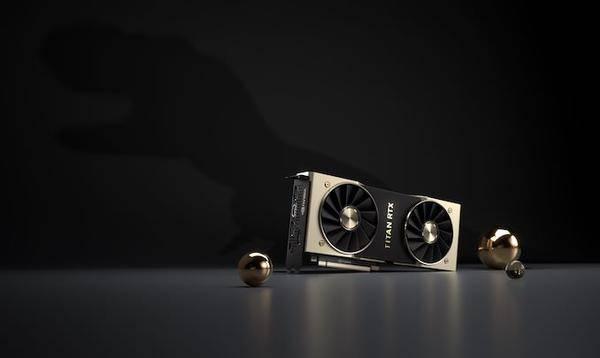 TITAN RTX显卡发布 网友:性能提升10% 逼格提升100%