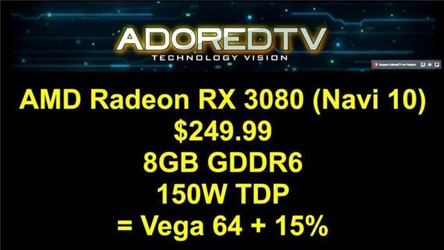 AMD新一代7nm显卡曝光:性能大飞跃! 型号狙击英伟达