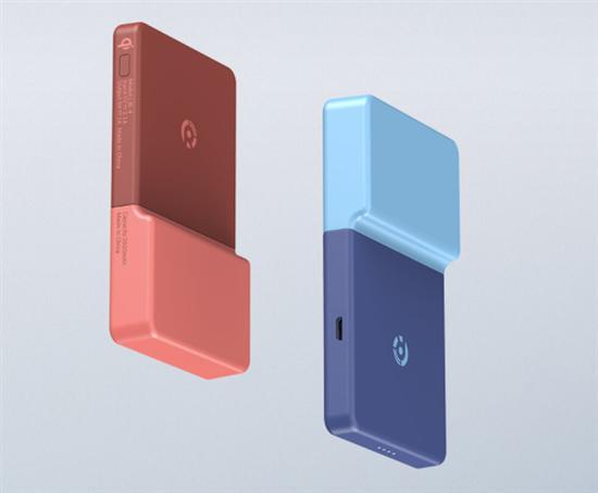 售价159元!小米有品上架电力贴移动电源:模块化设计/无线充电