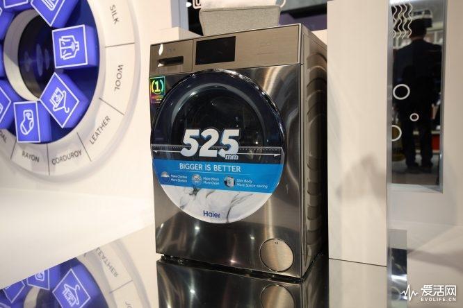 海尔云梦洗衣机CES2019发布:搭载双直驱科技 洗涤时间提升55%