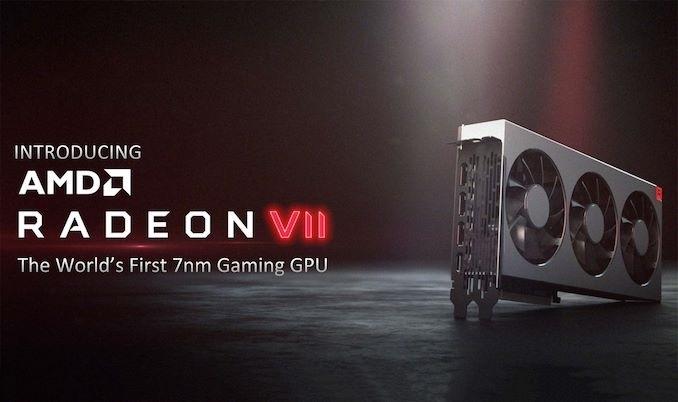 AMD发布全球首款7nm工艺游戏显卡 黄仁勋:没有AI光追 平淡的产品
