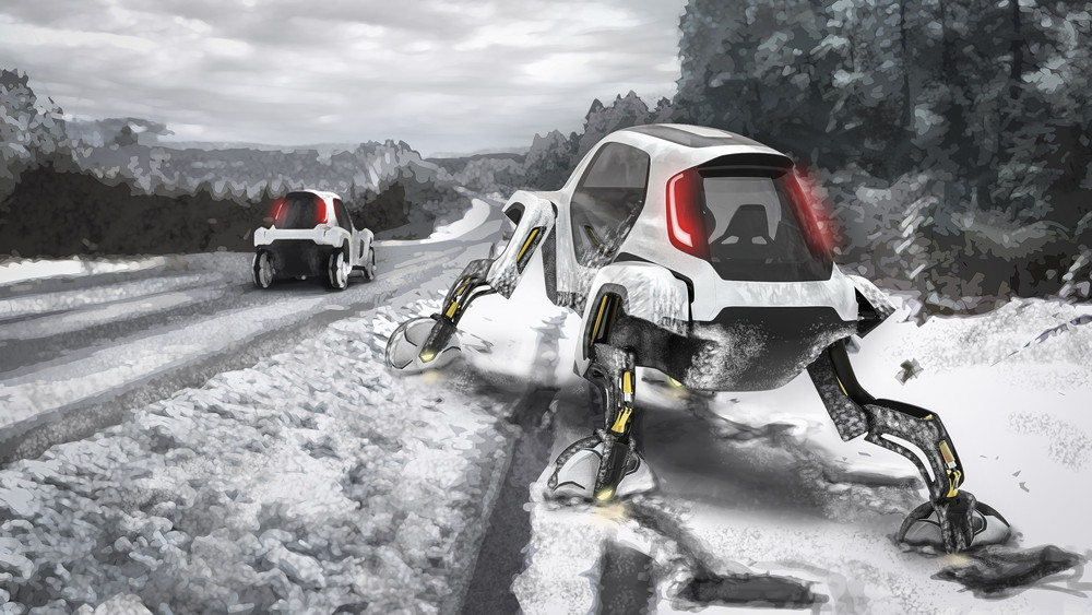CES2019展现代汽车新型步行汽车惊艳亮相 不要飞就要会走的