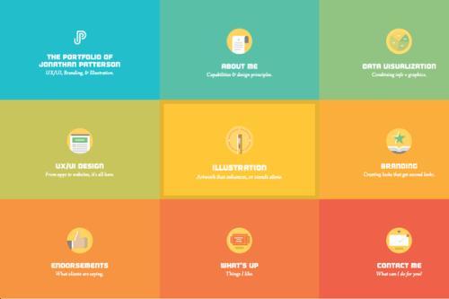 网页设计栅格就是你对页面版式的规划