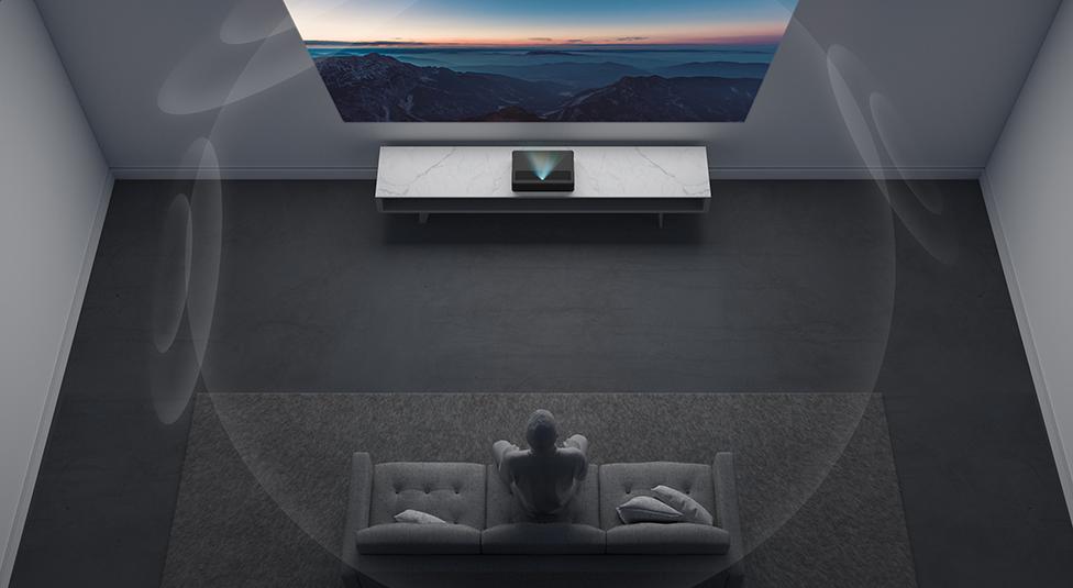 米家激光投影电视4K版正式发布:可投150英寸超巨幕 售价9999元