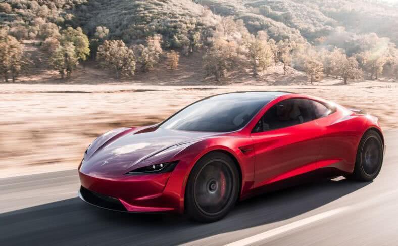 要上天吗?马斯克:新款特斯拉跑车将装置火箭推进器 瞬间能起飞